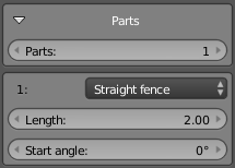 Fence parts